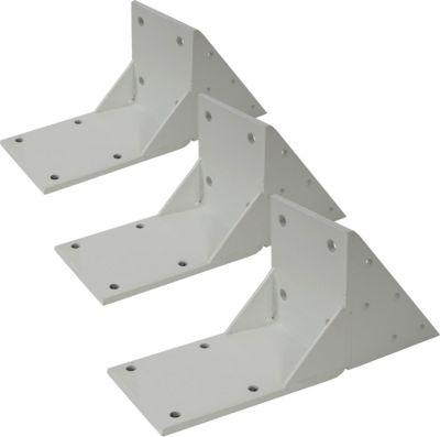 heute wohnen heute-wohnen 3x Dachsparrenadapter für Kassetten-Markise T124, Dachsparren Halterung Adapter