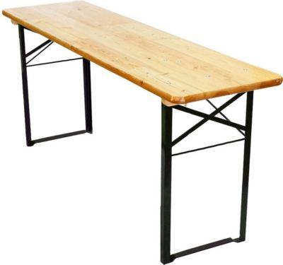Tisch für Bierzeltgarnitur Festzeltgarnitur Wien II, Brauereiqualität 180cm