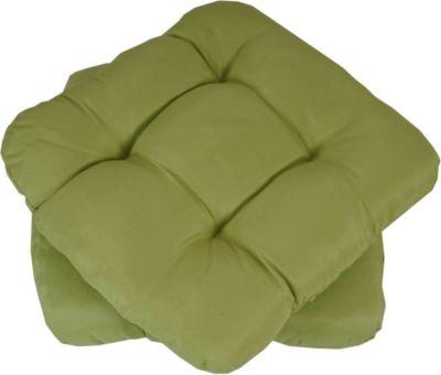 heute wohnen heute-wohnen 2x Sitzkissen Dublin, Stuhlkissen Kissen, 41x38x8cm