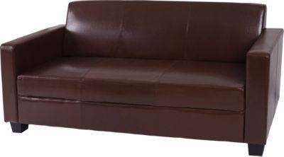 3er Sofa Busto, Loungesofa Couch, Leder