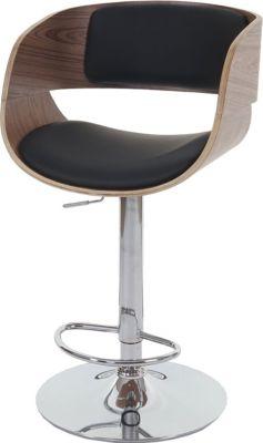 Barhocker Bray, Barstuhl, Holz Bugholz Retro-Design