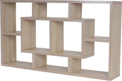 heute-wohnen Wandregal Nyon T521, Hängeregal Bücherregal 48x85x16cm