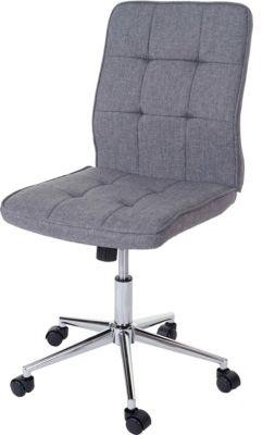 heute-wohnen-burostuhl-newcastle-drehstuhl-arbeitshocker-schreibtischstuhl-textil-grau
