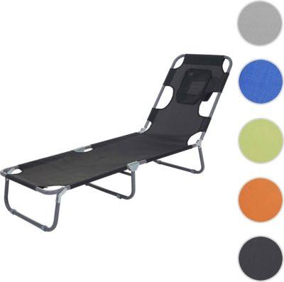 Hochwertig Heute Wohnen Sonnenliege HWC B11, Relaxliege Gartenliege,  Bauchliegefunktion Textil Klappbar