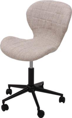 heute-wohnen-drehstuhl-hwc-b43-arbeitshocker-schalensitz-burostuhl-retro-design-textil-creme