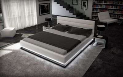 Berlin Wasserbett MOONLIGHT LED Komplett Set