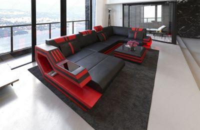 Sofa Dreams Wohnlandschaft Ravenna U Form bei Plus Online Shop