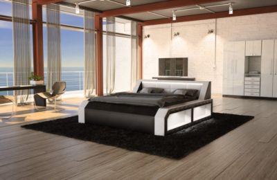 Sofa Dreams Berlin Designer Bett MATERA mit Bel...