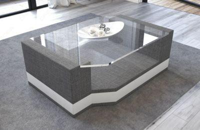 Sofa Dreams Stoff Glastisch Messana | Wohnzimmer > Tische > Glastische | Sofa Dreams