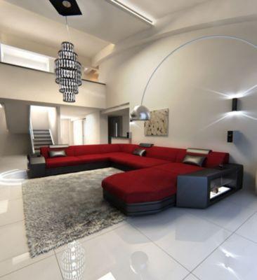 Sofa Dreams Berlin Stoff Wohnlandschaft Prato XXL