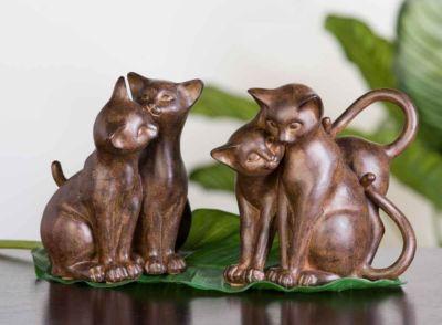 Deko-Katzen von Casablanca