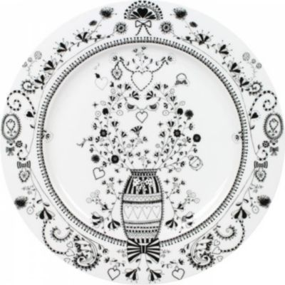Platzteller aus Porzellan