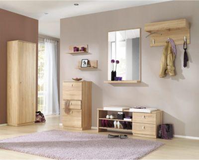 garderobe gornluend 5 teilig in eiche saegerau b2b trade. Black Bedroom Furniture Sets. Home Design Ideas