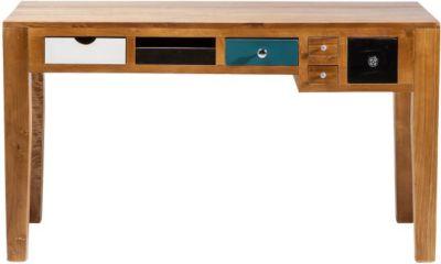 Schreibtisch von Kare Design in Braun / Bunt