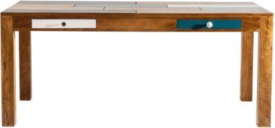 Esstisch 180x90 cm von Kare Design in Braun / Bunt