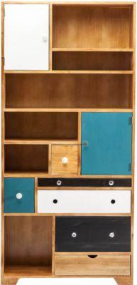 Regal von Kare Design in Braun / Bunt
