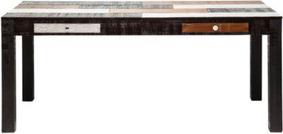 Esstisch 180x90 cm von Kare Design in Braun / Weiß