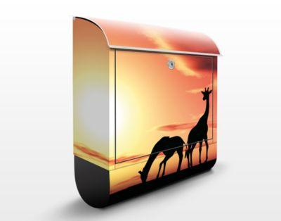 Design Briefkasten African Life 39x46x13cm Edel...