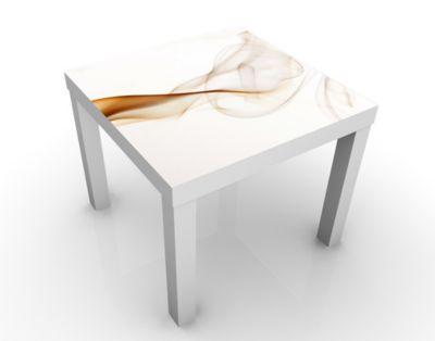 Design Tisch Soul of London 55x45x55cm Beistelltisch, Couchtisch, Motiv-Tisch, Wohnzimmer, Metropole, Weltstadt, Seele, Rauch, Weich