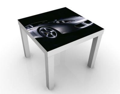 Design Tisch Porsche Carrera GT No.1 55x45x55cm Beistelltisch, Couchtisch, Motiv-Tisch, Wohnzimmer, Autos, Sportwagen, Rennsport, Prestige, Karosserie