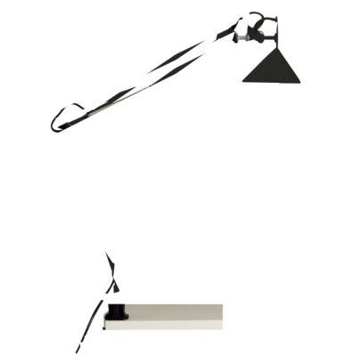 Brilliant Hobby Schreibtischklemmleuchte schwarz