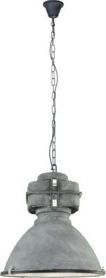 Brilliant Anouk Pendelleuchte, 1-flammig grau antik
