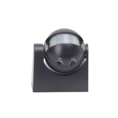 Brilliant  Bewegungsmelder schwarz IP44