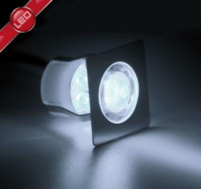 Brilliant Asta 30 LED Einbauleuchtenset: 10 Stück edelstahl/kaltweiß   Lampen > Strahler und Systeme > Möbelaufbaustrahler   Brilliant