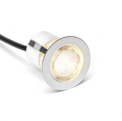 Brilliant Cosa 30 LED Einbauleuchtenset: 10 Stück edelstahl/warmweiß   Lampen > Strahler und Systeme > Möbelaufbaustrahler   Brilliant