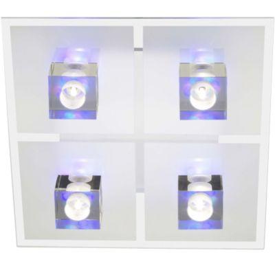 Sandor Deckenleuchte 4-flammig LED-Applikation und Fernbedienung