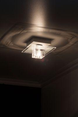 farbwechselnde LED Deckenleuchte Sandor, 1-flammig mit Fernbedienung