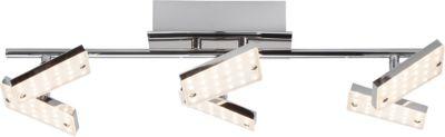 Brilliant New Design LED Deckenleuchte, 6-flammig chrom