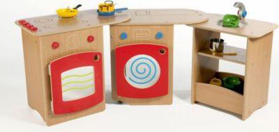 Kinderküche -zusammenklappbar, auf Rollen