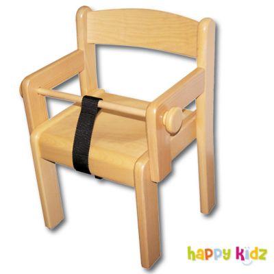 krippenstuhl mit armlehne und sicherheitsb gel sitzh he 24 cm preis bild rating vorlieben. Black Bedroom Furniture Sets. Home Design Ideas