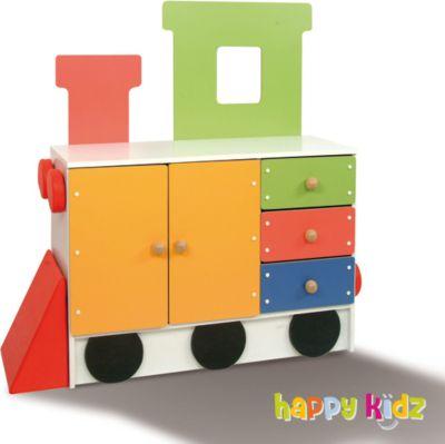 Kinderschrank ´´Happy Train´´ Lokomotive