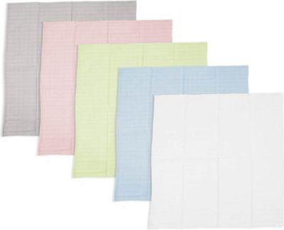 Plus 5 Handtücher Pastell 65 x 65 cm