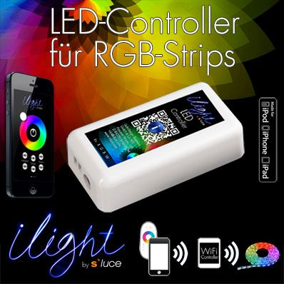 s`luce LED-Strips WiFi-Controller iLight Steuer...
