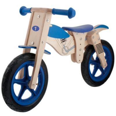 Kinder Holz Laufrad MOTORRAD