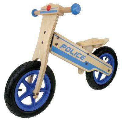 Kinder Holz Laufrad POLICE