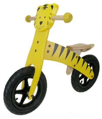 Kinder Holz Laufrad TIGER