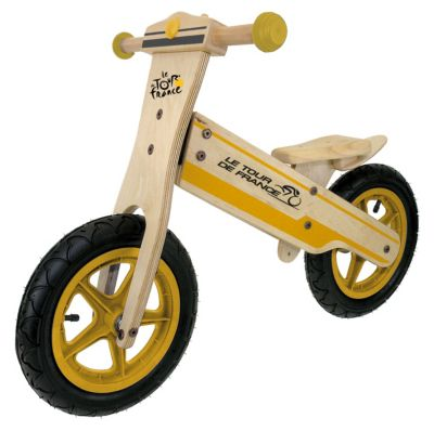 Kinder Holz Laufrad TOUR DE FRANCE