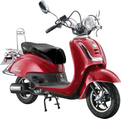 Vorschaubild von IVA Retro Motorroller ROMA Rot