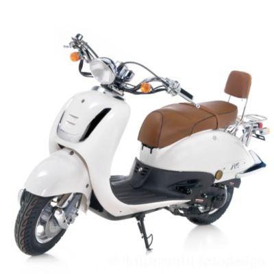 Vorschaubild von IVA Retro Motorroller ROMA Weiß