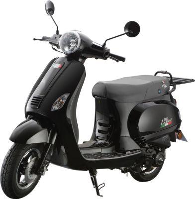 Vorschaubild von IVA Motorroller LUX 50 Schwarz