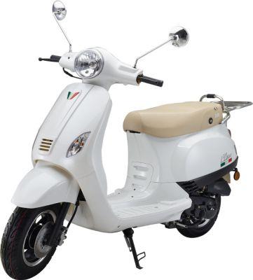 IVA Motorroller LUX 50 Weiß
