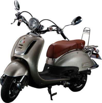Vorschaubild von IVA Retro Motorroller ROMA Champagne