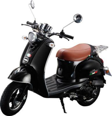 IVA Motorroller VENTI 50 Schwarz
