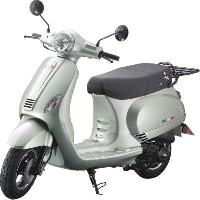 Vorschaubild von IVA Motorroller LUX 50 Grün