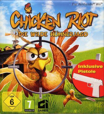 Chicken Riot Bundle (inkl. 1 Pistolen) (WII)