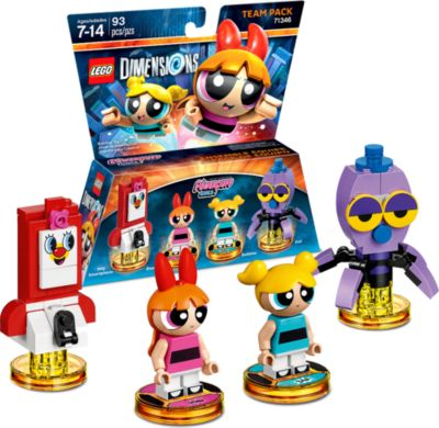 LEGO Dimensions Powerpuff Girls Team Pack (WIIU...
